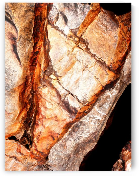 Australia Rocks - Abstract 44 by Lexa Harpell