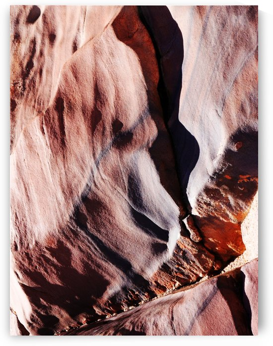 Australia Rocks - Abstract 46 by Lexa Harpell