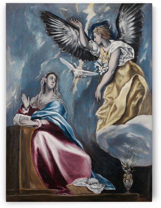 Annunciation by Albrecht Durer