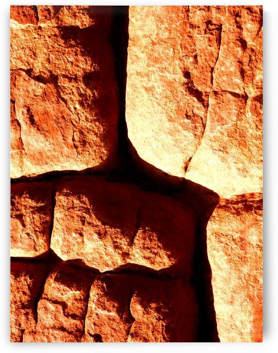 Australia Rocks - Abstract 47 by Lexa Harpell