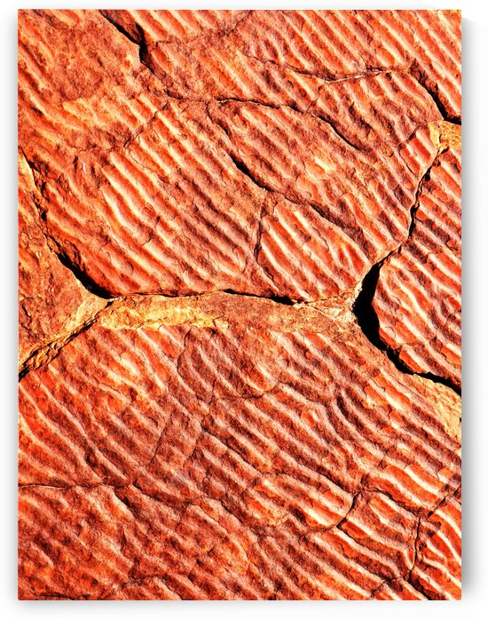 Australia Rocks - Abstract 48 by Lexa Harpell