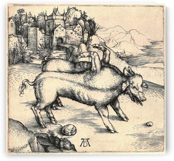 Monstrous Sow of Landser by Albrecht Durer