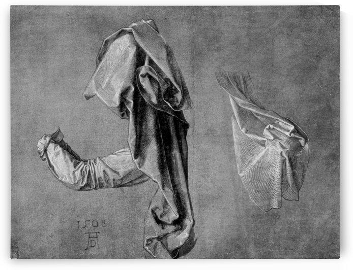 Garment studies by Albrecht Durer