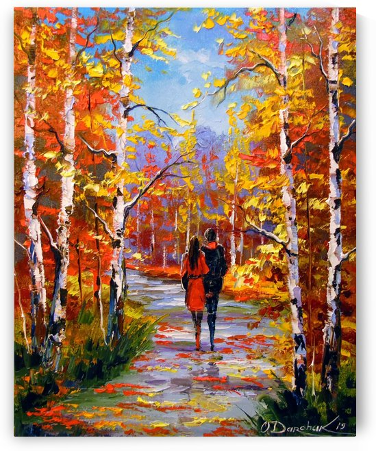 Autumn walk by Olha Darchuk