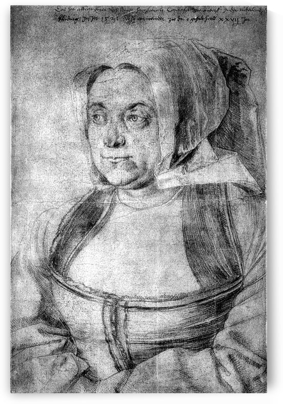 Agnes Durer in Dutch Tracht by Albrecht Durer