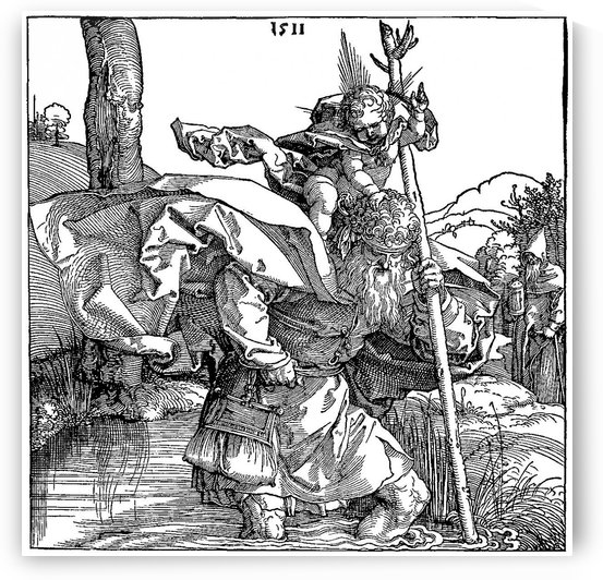 Saint Christopher by Albrecht Durer