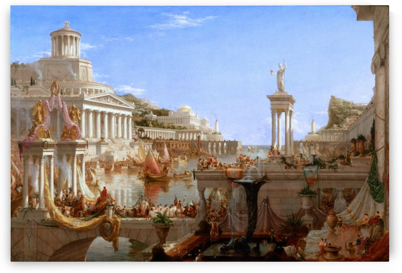 The Consummation of Empire by Thomas Cole by xzendor7