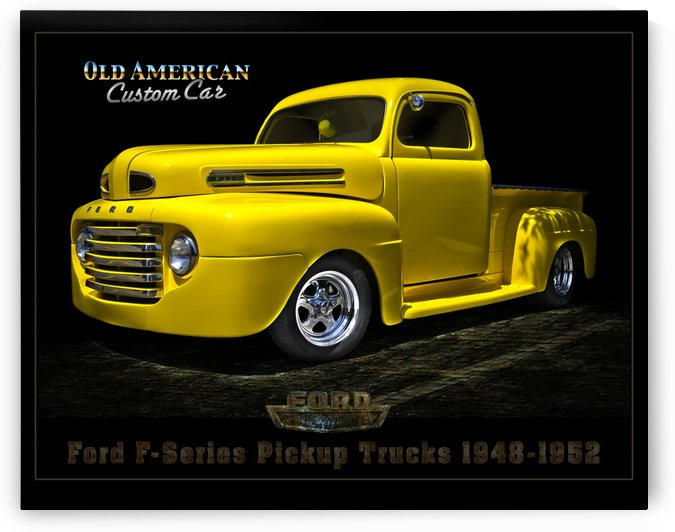 FORD OLD F Series TRUCK 1948 by George Bloise