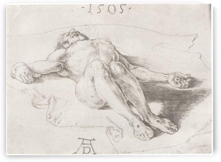 Body of Christ by Albrecht Durer