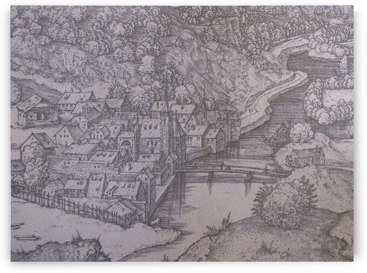 Klausen Town by Albrecht Durer