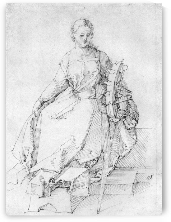 St. Catherine by Albrecht Durer