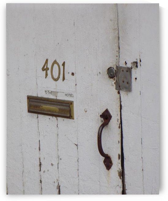 Weathered Door by Castle Green Enterprises