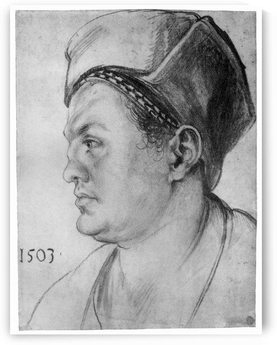 Portrait of William Pirckheimer by Albrecht Durer