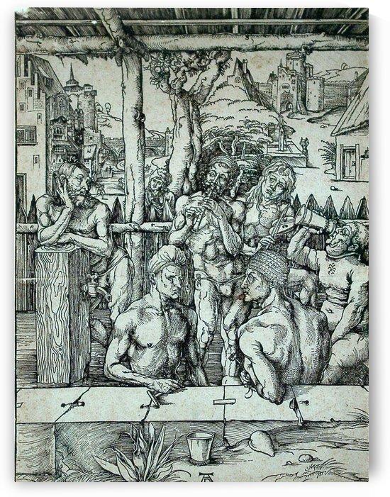 The Men's Bath by Albrecht Durer