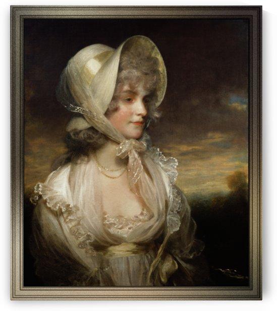 The Honourable Lucy Byng by John Hoppner by xzendor7
