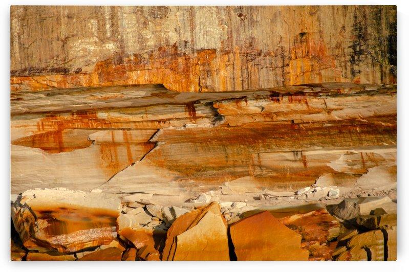 Rock Face Texture by Pamela Winter