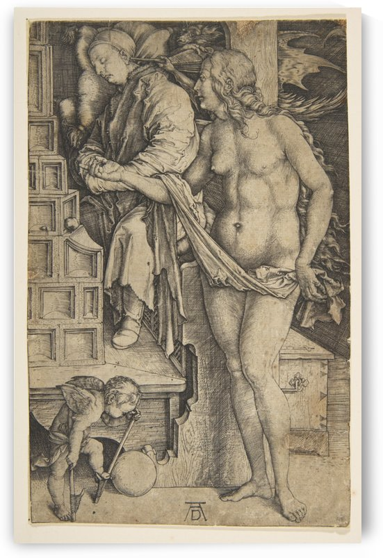 The Dream of the Doctor by Albrecht Durer