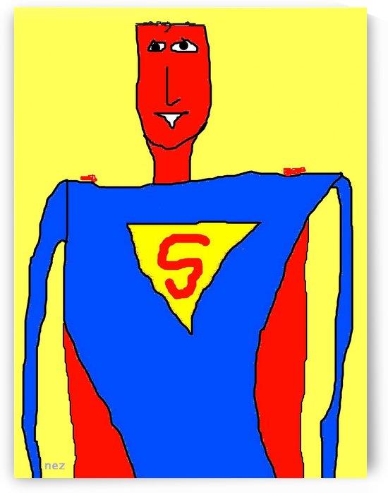 Superman Lite by Efrain Montanez