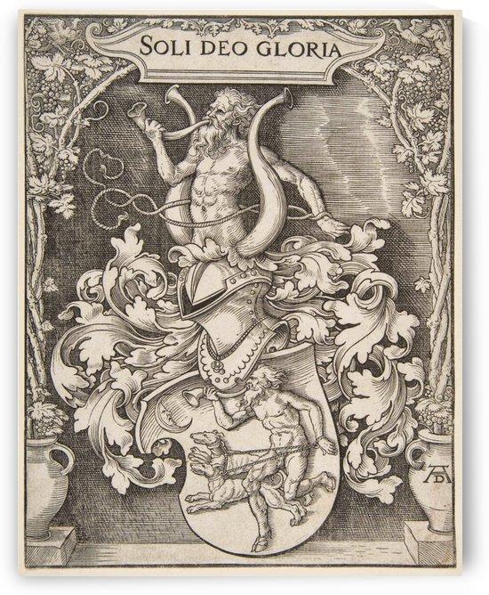 Coat of Arms of Johann Tscherte by Albrecht Durer