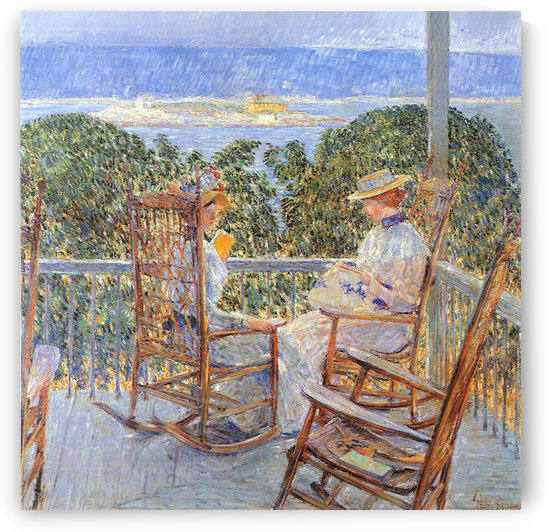 Ten Pound Island by Hassam by Hassam