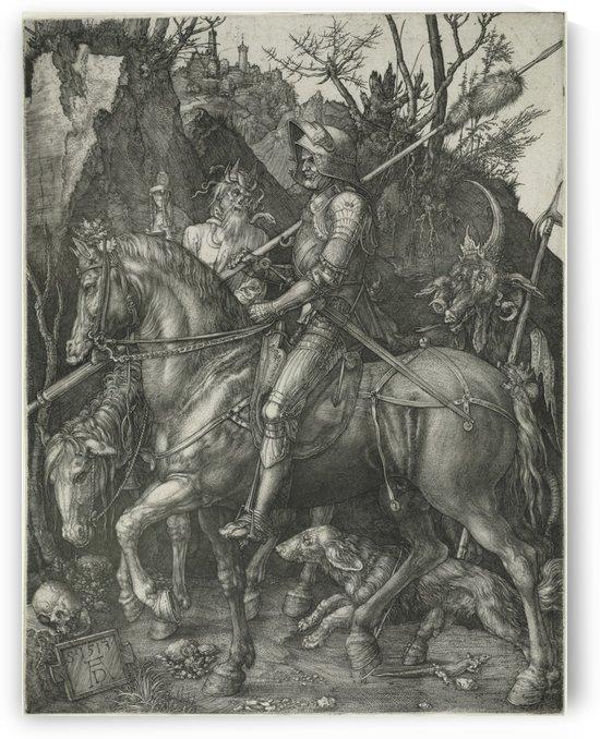 German knight by Albrecht Durer