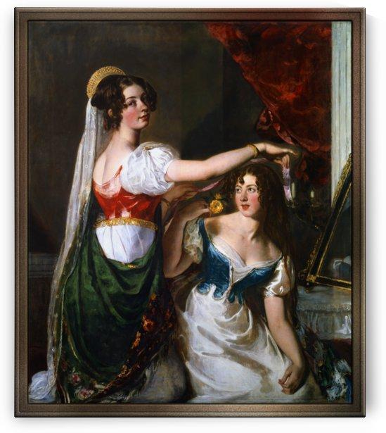 Preparing for a Fancy Dress Ball by William Etty by xzendor7