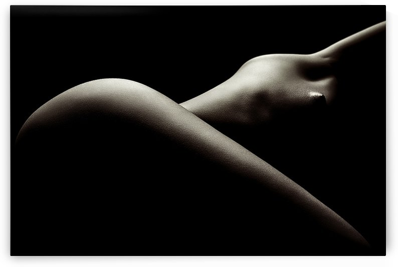 Nude woman bodyscape 44 by Johan Swanepoel