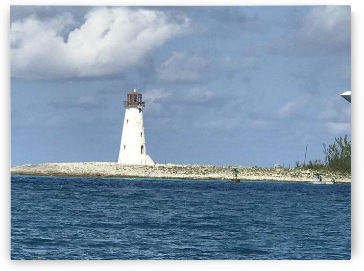 Caribbean Lighthouse by Kathleen OConnor