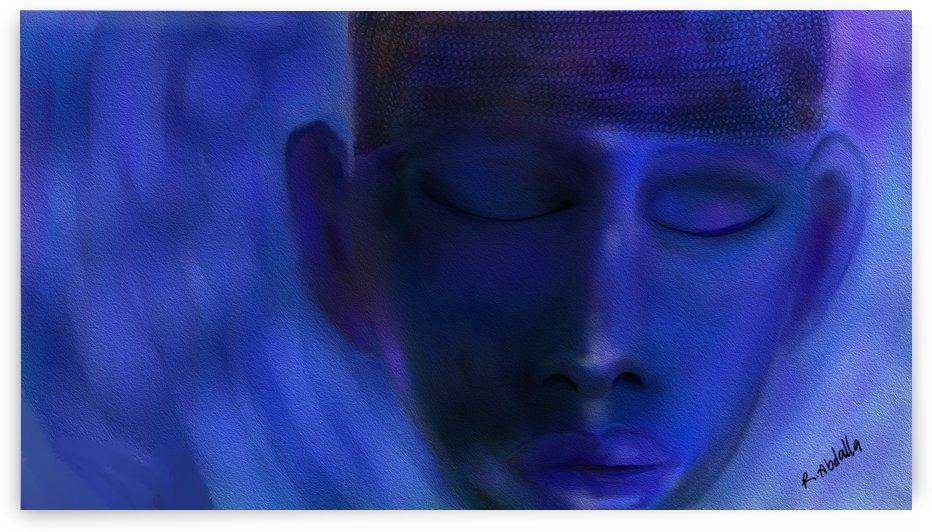 Buddha Blue by Regina Abdalla