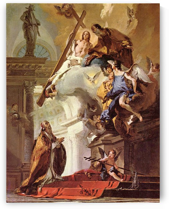 A Vision of the Trinity by Giovanni Battista Tiepolo