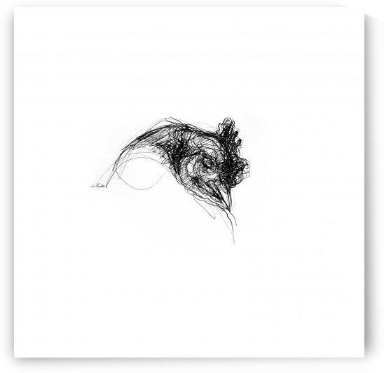 10x10 toile verni mat 5  by Lea Riviere