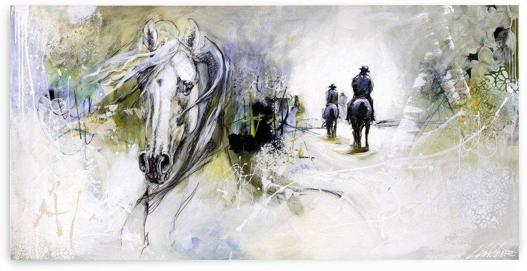 48x24 toile verni mat 1  by Lea Riviere