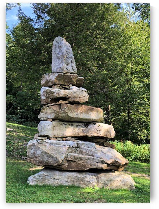 Stacked Stones by Emerson