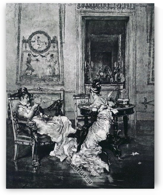 Ladies of the First Empire by Giovanni Boldini