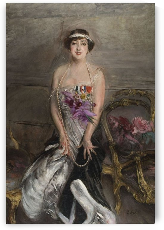 Portrait of Lady Michelham by Giovanni Boldini