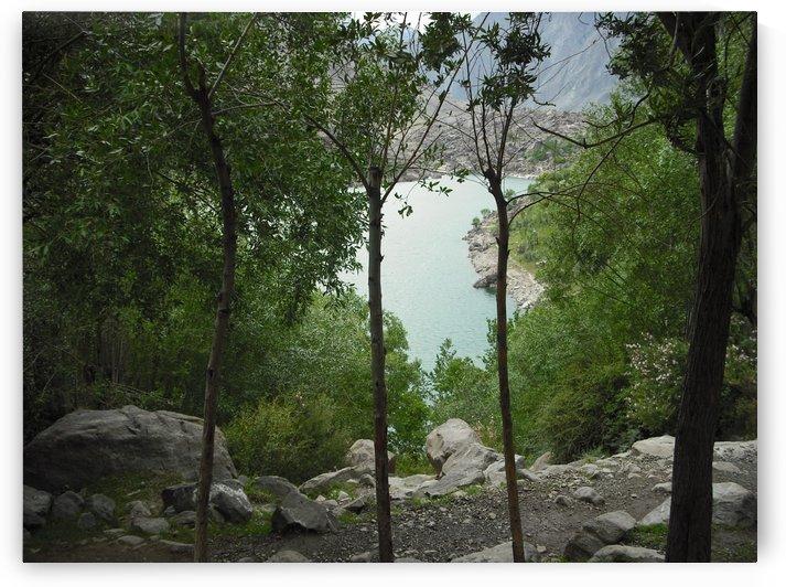 Upper kachora lake - Sakardu valley - Pakistan by Hafiz Muhammed Usman