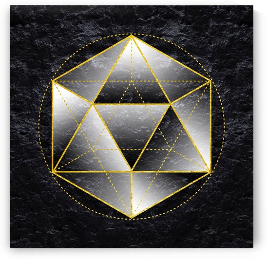 Sacred Geometry I by Art Design Works