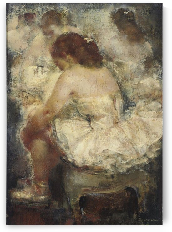 Moment of Rest by Grigory Gluckmann