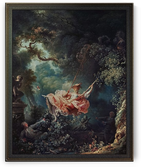 The Happy Accidents of the Swing by Jean-Honoré Fragonard by xzendor7