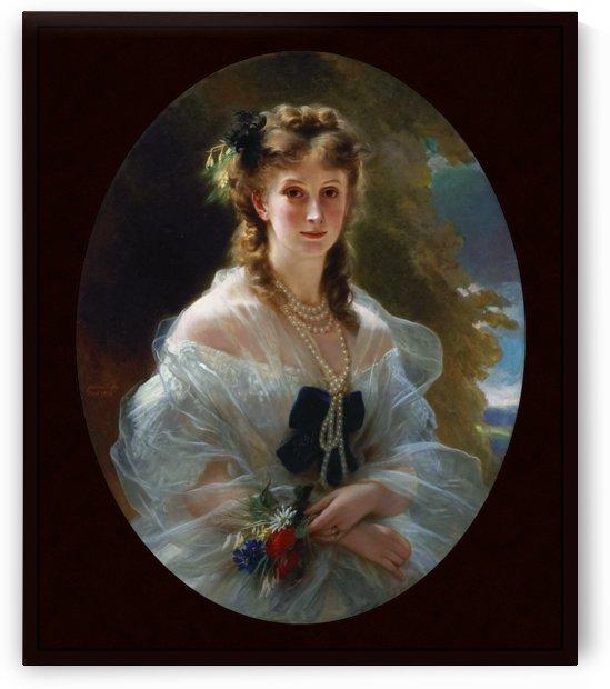 Princess Sophie Troubetskoi Duchess De Morny by Franz Xaver Winterhalter by xzendor7