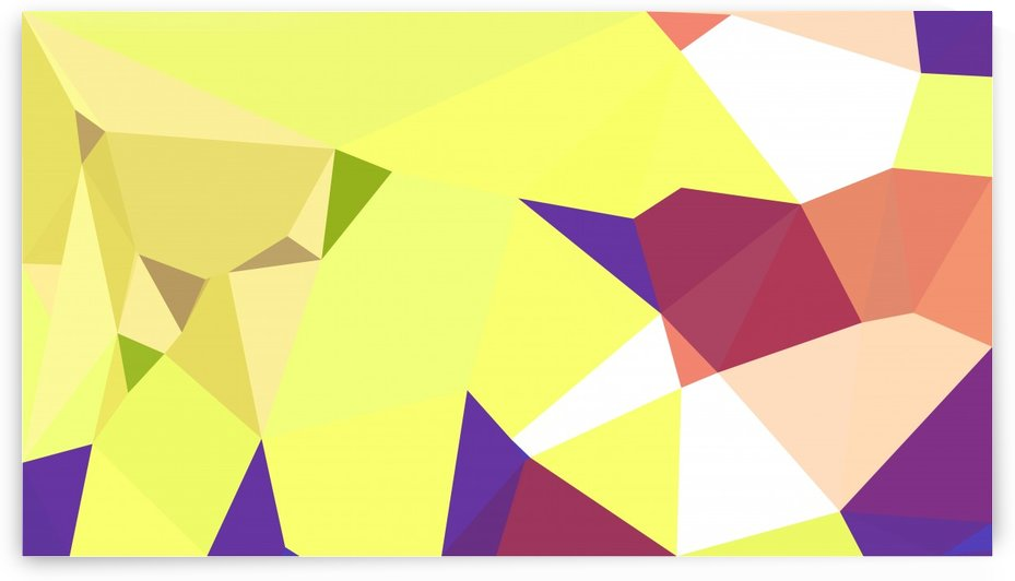 abstract geometric triangular art by eigens