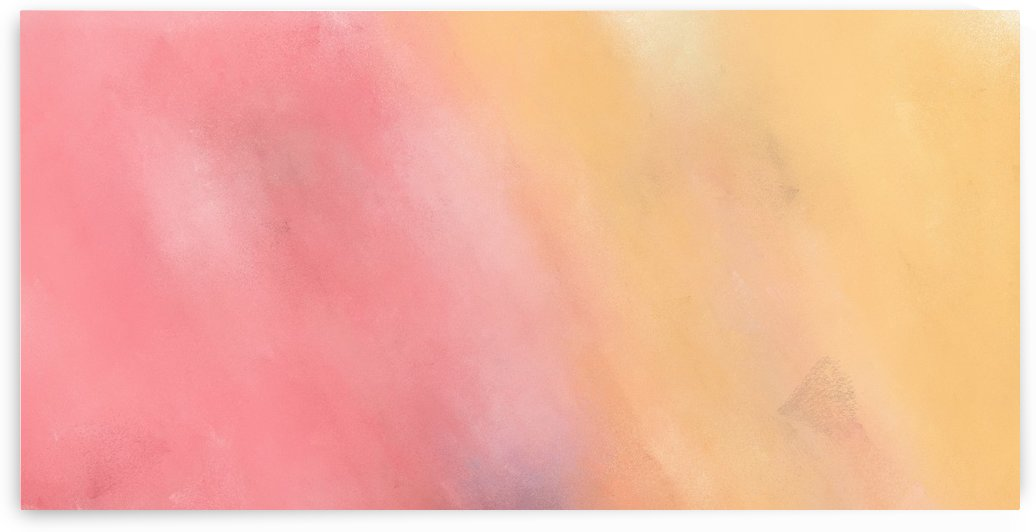 brushed artwork with orange - pink painting color by eigens