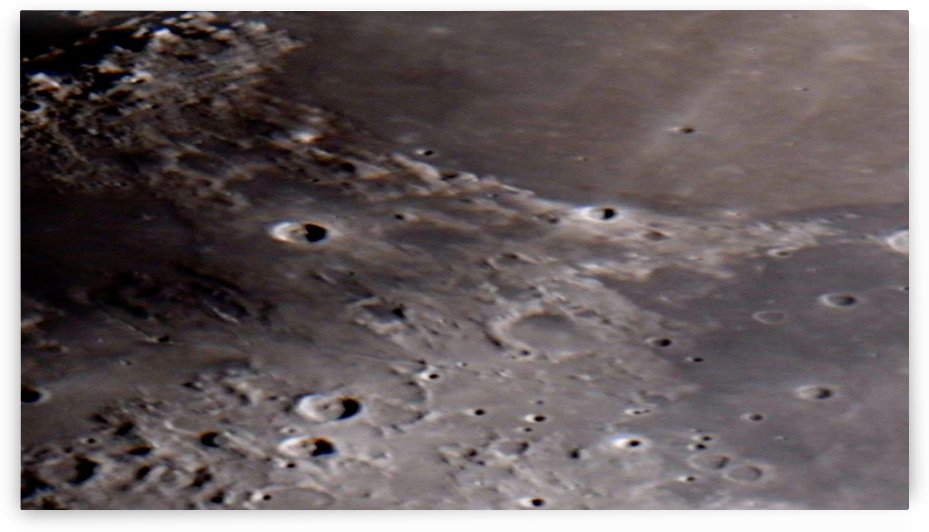 Mare Serenatatis On The Moon HD by Bruce Swartz