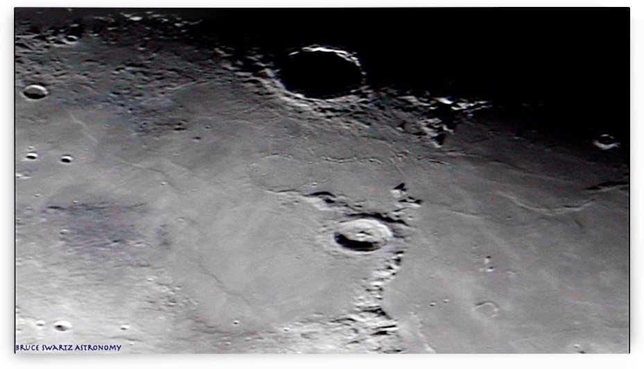 Copernicus Crater High Resolution by Bruce Swartz