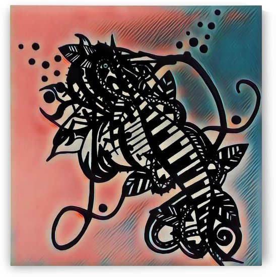 Mon cou de coeur ma creation  by Jodygraphe