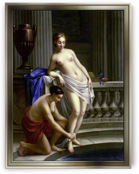 Greek Woman at the Bath by Joseph-Marie Vien by xzendor7