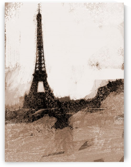 Paris Icon in Sephia by Sarah Butcher