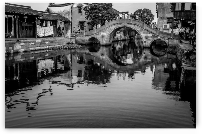 The Wolong Bridge by Robert Knight