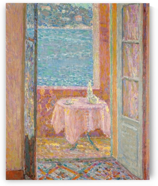 Table by the Sea, Villefranche-sur-Mer by Henri Le Sidaner