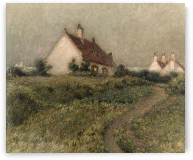 A House on a Dune, Fort-Philippe by Henri Le Sidaner